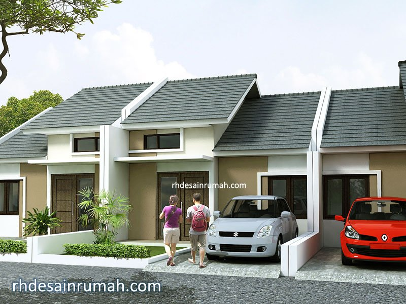 desain perumahan sederhana minimalis