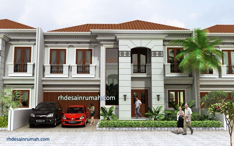 Desain Rumah Mewah Gaya Mediterania Klasik