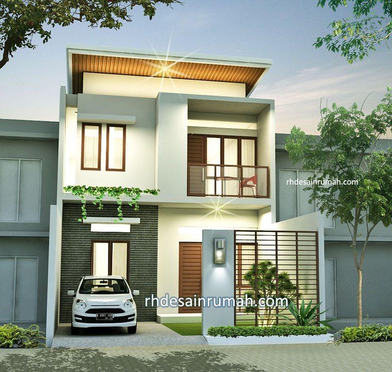Desain Rumah Minimalis Modern 2 lantai di Semarang