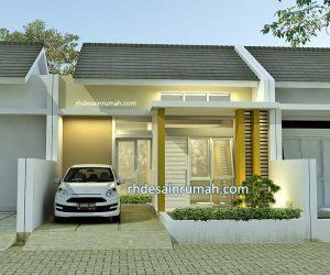 denah rumah 2 kamar 6x12 meter - jasa desain rumah online