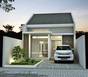 Desain Fasade Rumah Lebar 6 Meter Mewah Elegan