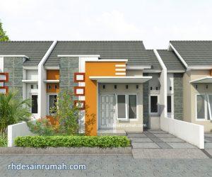 Read more about the article Rumah Minimalis Modern Aksen Warna Orange