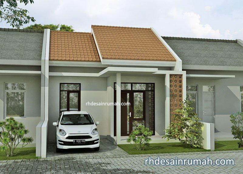 rumah sederhana elegan 1 lantai