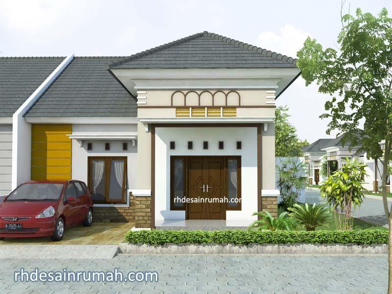 desain rumah sederhana 1 lantai di tanah hook