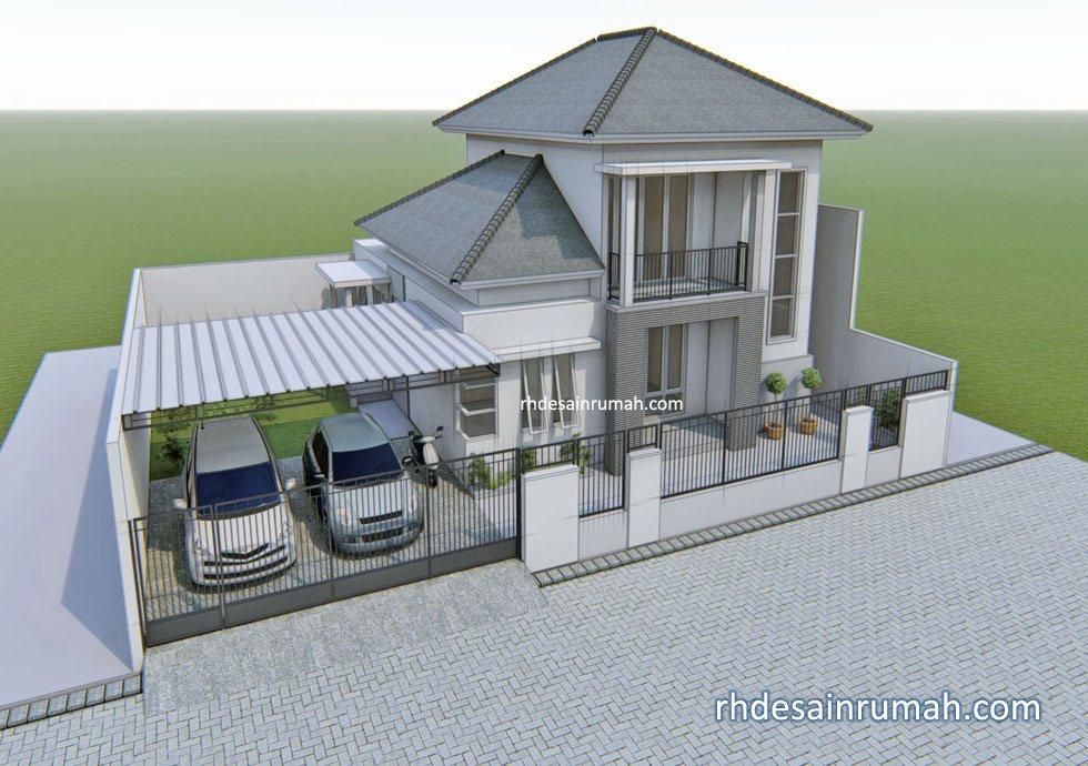 55 Gambar Rumah Mewah 2 Lantai Terbaru Gratis
