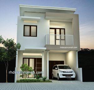 Desain Rumah Mewah Modern 2 Lantai
