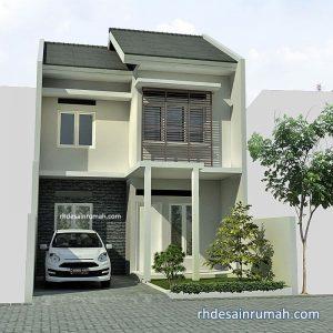 Rumah 2 Lantai Sederhana Lebar 6 Meter