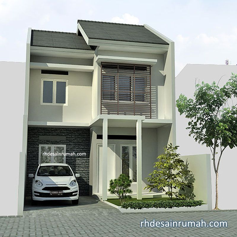 77 Gambar Rumah 2 Lantai Yg Sederhana HD