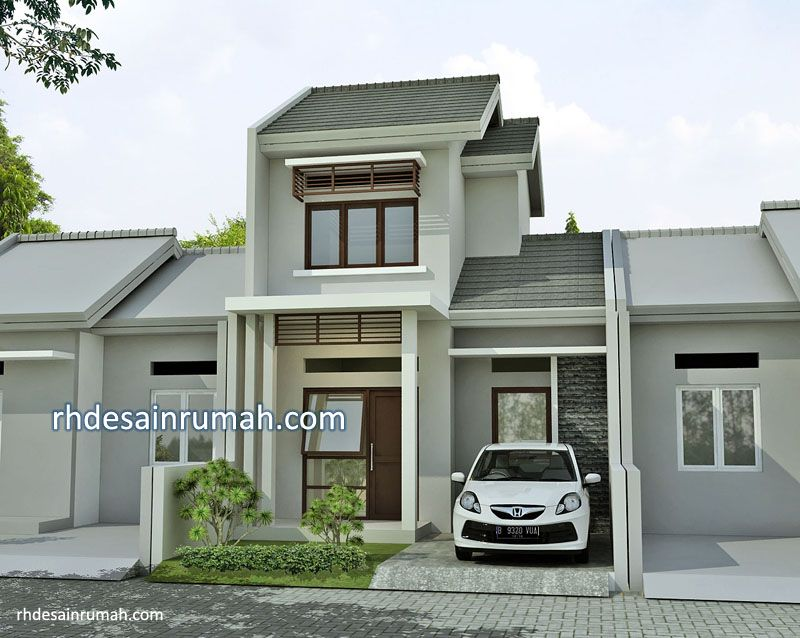 Desain Rumah Sederhana 6×12 Meter Minimalis