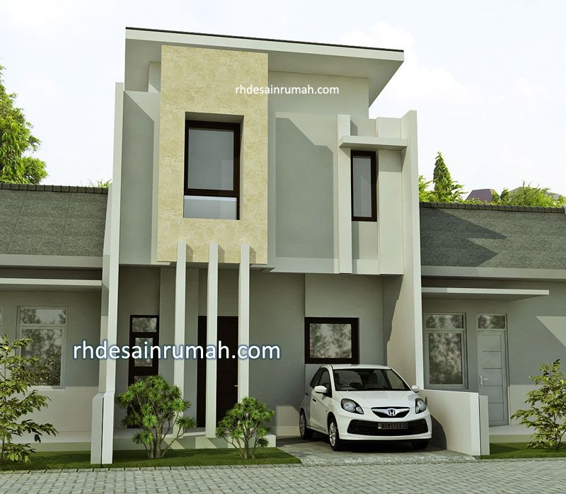 rumah modern minimalis bentuk kotak
