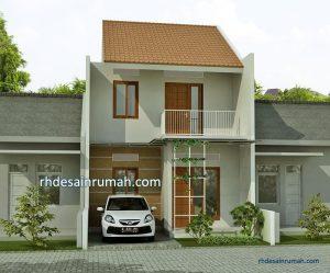Read more about the article Desain Rumah Sederhana 2 Lantai Atap Pelana