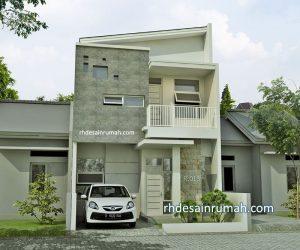 Desain Rumah Atap Miring Menarik & Elegan