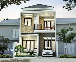 Desain Rumah Mewah 6×12 Meter