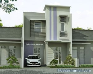 Read more about the article Rumah 2 Lantai Gaya Modern Minimalis