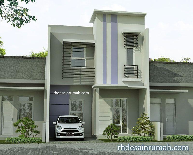 Rumah 2 Lantai Gaya Modern Minimalis