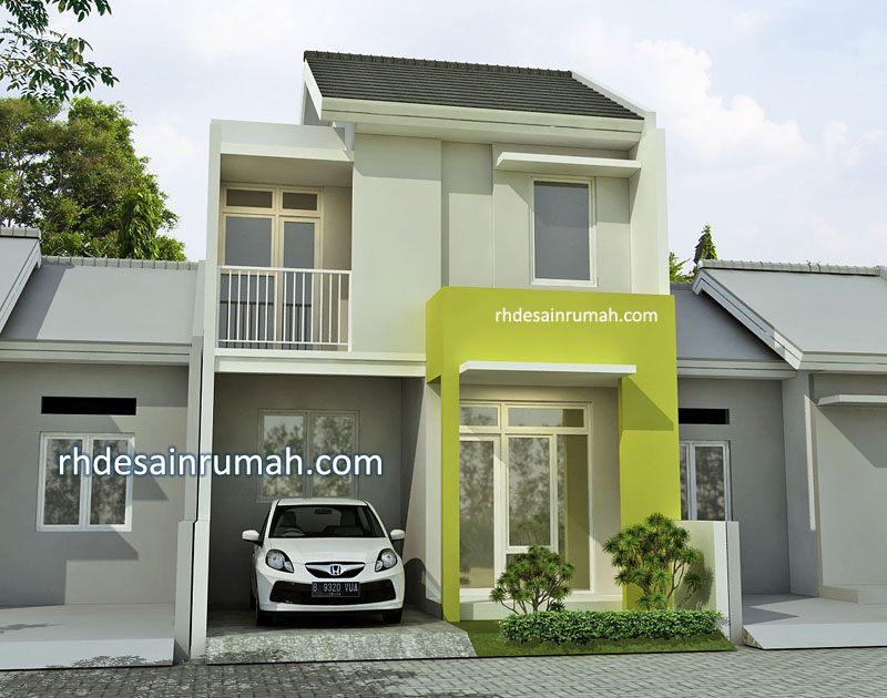Desain Rumah 6×12 2 Lantai