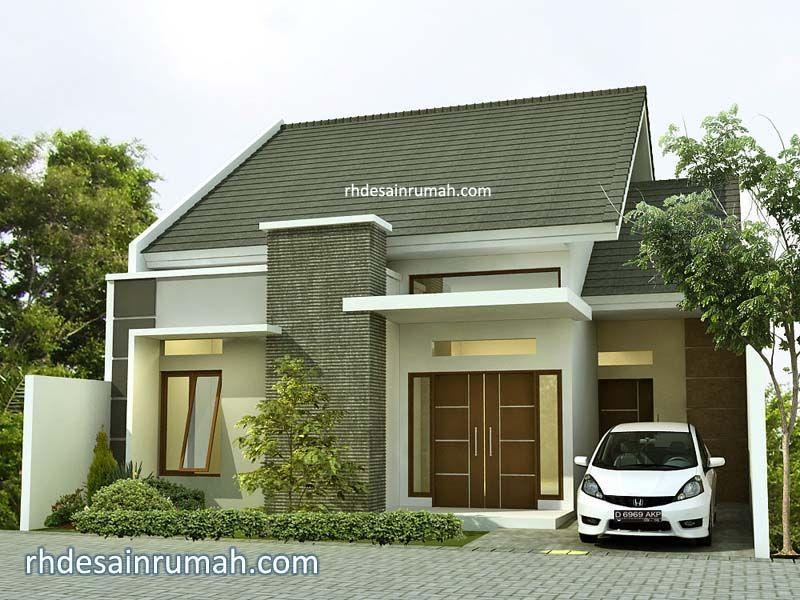 Desain Rumah Elegan 1 Lantai di Banjarmasin