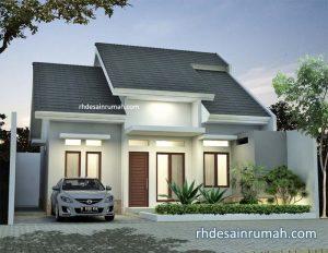 Desain Rumah Minimalis 1 Lantai Mewah