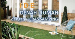 Read more about the article Denah Rumah 8×10 dengan Teras Samping, Contoh Desain