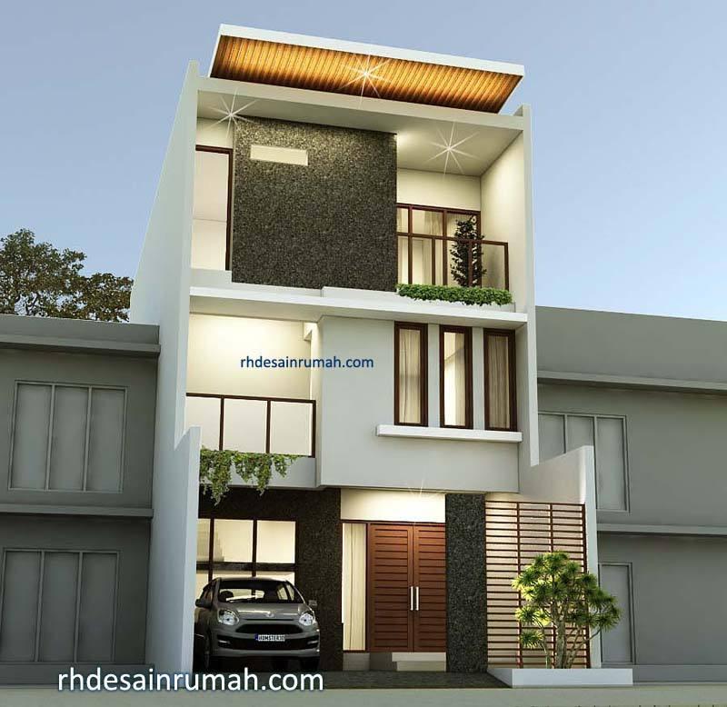 Desain Rumah 3 Lantai Modern di Depok