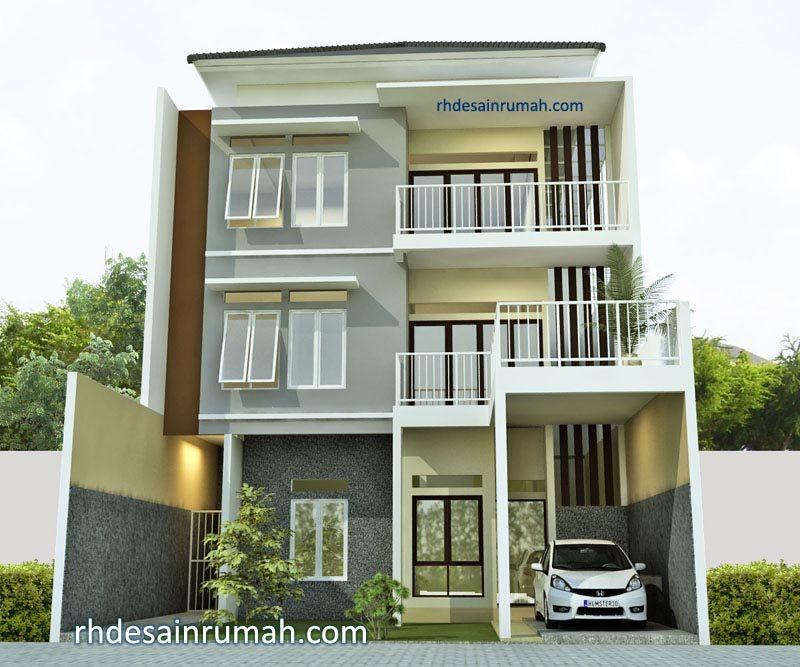 Desain Rumah Mewah 3 Lantai di Jakarta Selatan