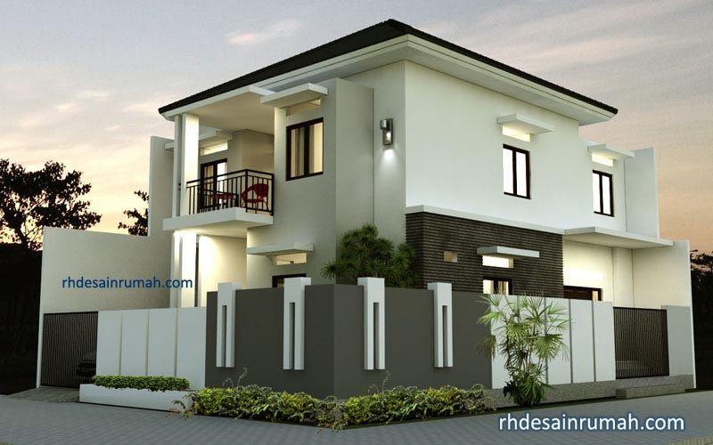 Desain Rumah Minimalis 2 Lantai Di Hook Model Rumah Minimalis Bergarasi