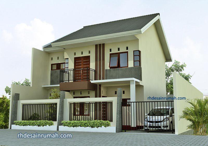 Rumah Elegan 2 Lantai Gaya Sederhana di Tangerang
