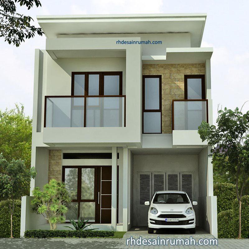 Rumah Gaya Modern 2 Lantai di Bekasi