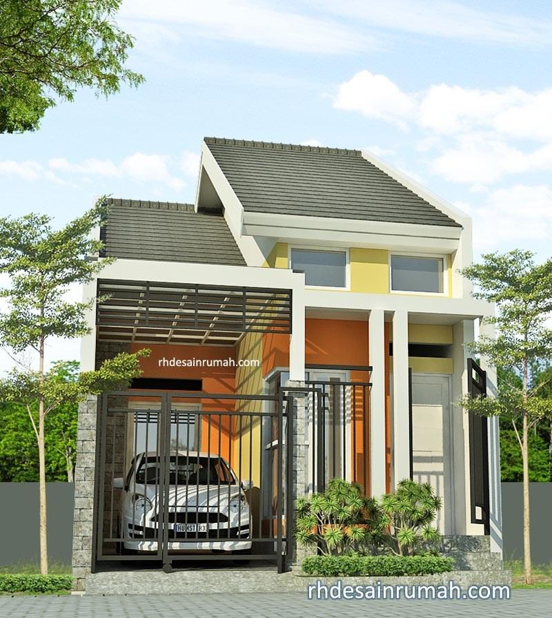 Desain Rumah Lebar 5 Meter Minimalis Modern