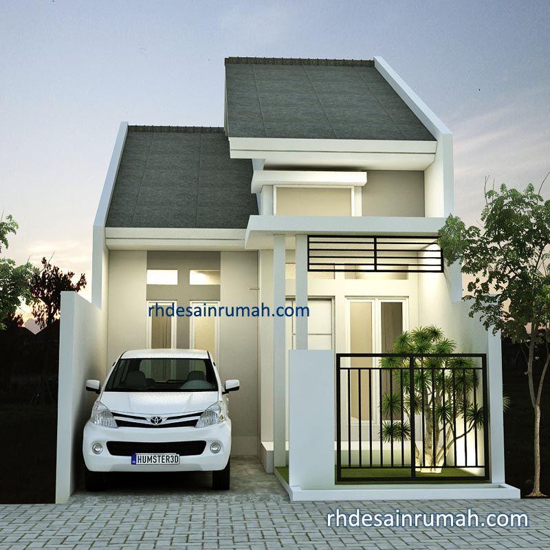 Desain Rumah Mungil 5×12 Minimalis Elegan