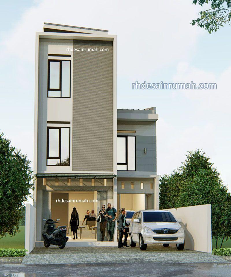 Desain Rumah Toko 3 Lantai di Sulawesi Tenggara