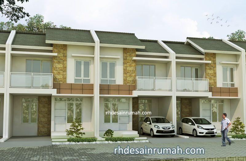 Rumah Cluster Type 80 Hiasan Granit