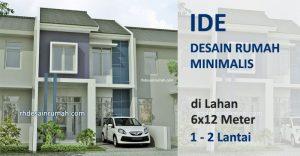 Desain Rumah 6×12 meter