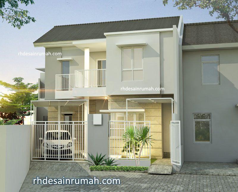 Desain Rumah Ujung Jalan di Semarang