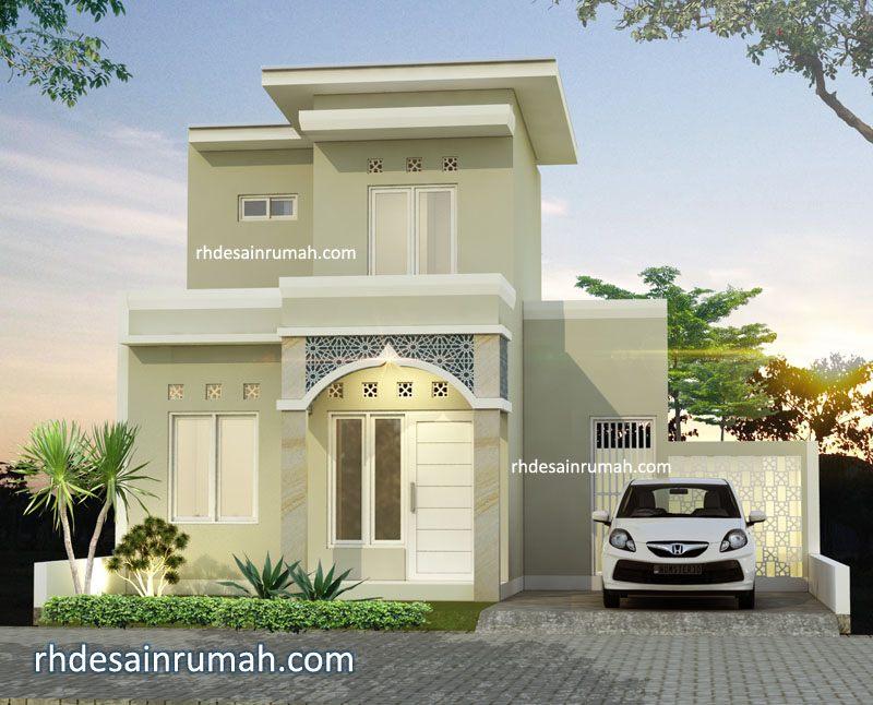 Desain rumah Islami 2 lantai di Medan