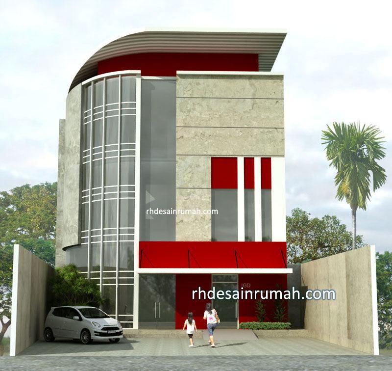 Perencanaan desain rumah sakit bersalin lebar 12
