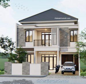 Read more about the article Model Rumah Sederhana Terlihat Mewah 2 Lantai