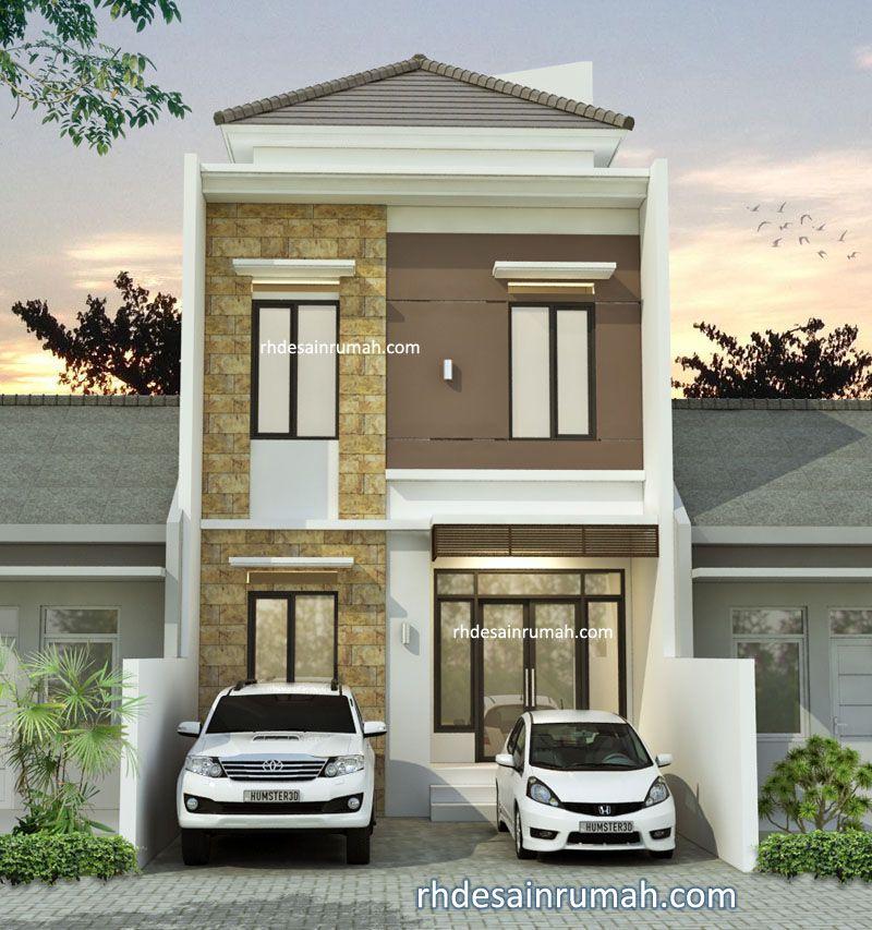 Rumah minimalis lebar 6 meter di Unnes Semarang