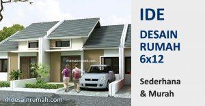 Desain Rumah 6×12 Sederhana Murah