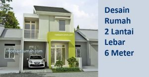 Read more about the article Desain Rumah Lebar 6 Meter 2 Lantai