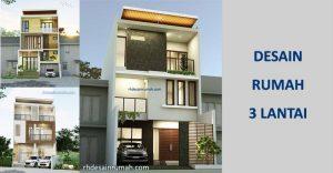 Desain Rumah 3 Lantai Keatas