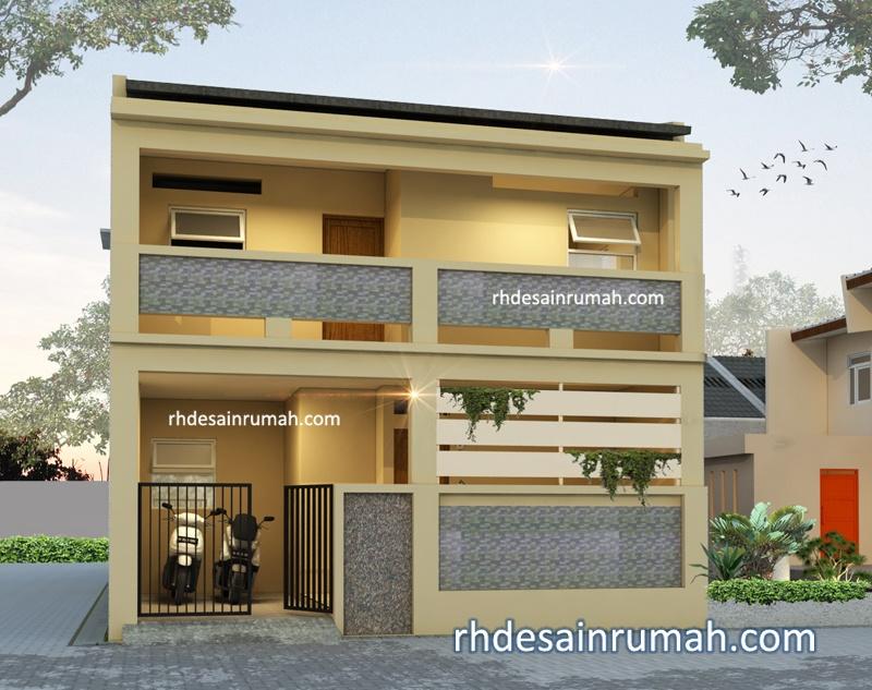 Desain Rumah 2 Lantai Hook di Semarang