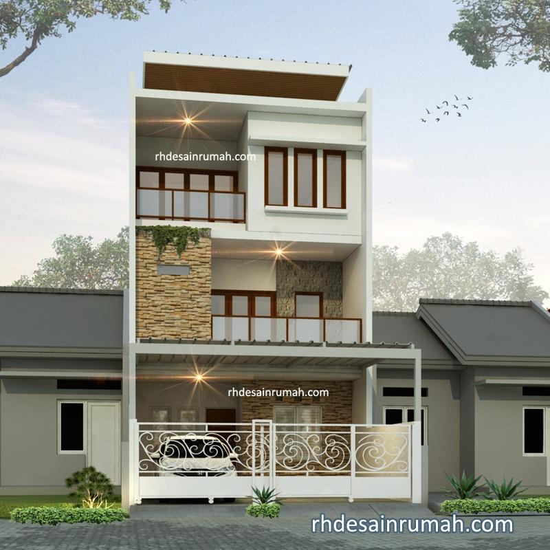 Rumah 3 Lantai Lebar 6 Meter di Tangerang