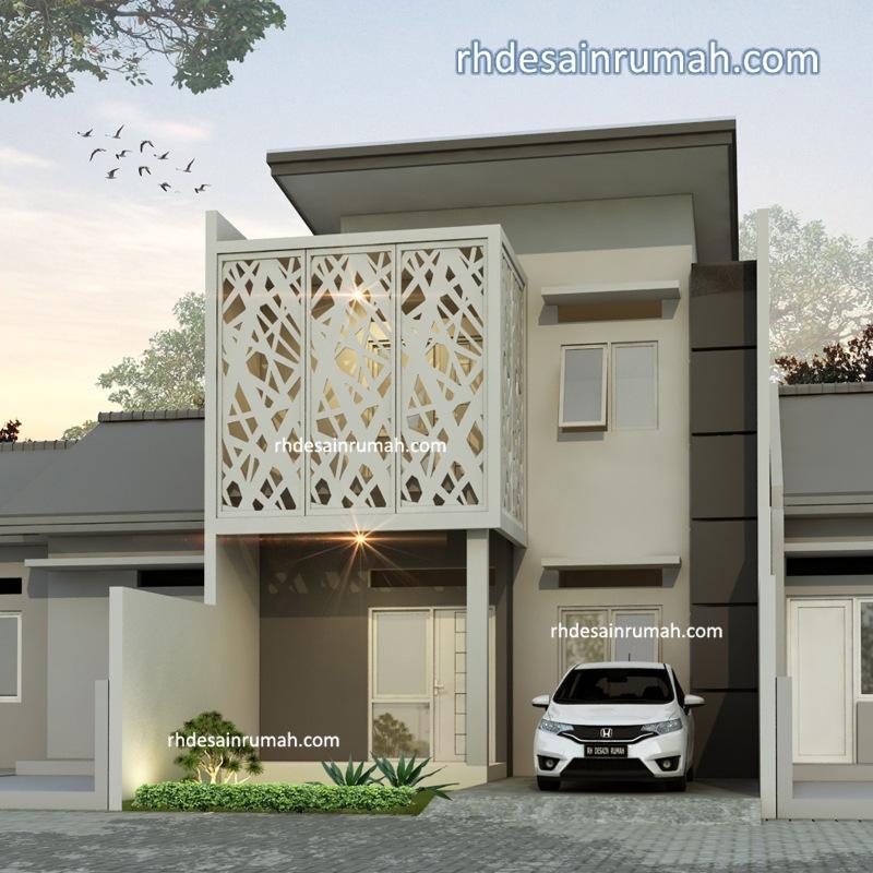 desain rumah dengan aksen grc
