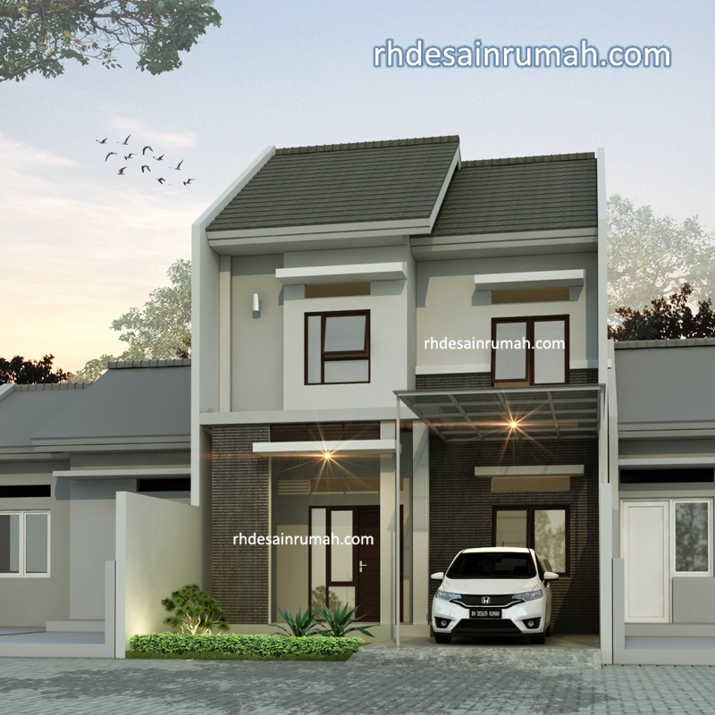 Desain Rumah Lebar 7 Meter 2 Lantai Rhdesainrumah