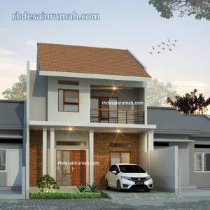 Read more about the article Desain Rumah dengan Atap Genteng Tanah Liat