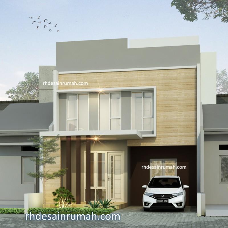 Rumah 7x12 2 lantai minimalis elegan