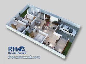 jasa arsitek dan desain interior gambar denah 3D perspektif