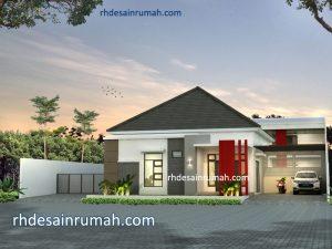 Read more about the article Desain Rumah Warna Merah Minimalis